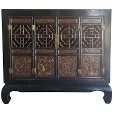 Chinoiserie Secretary Desk by Viyet Designer Furniture Storage Antique 19th Century
