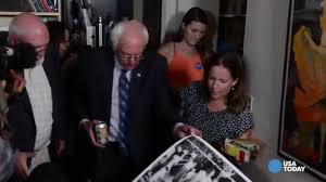 sights and sounds from bernie sanders u0027 house party youtube