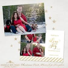 christmas card templates for photographers vol 3