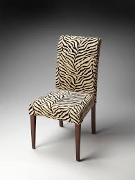 Animal Print Dining Room Chairs Chair Parsons Faux Leather Unique Dining Room Appealing Parson