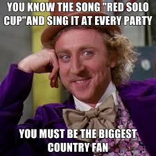 Solo Meme - you know the song red solo cup and sing it at every party you