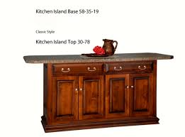 48 kitchen island kitchen island gallery heritage allwood furniture