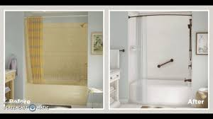 before and after bath fitter youtube
