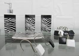 Zebra Shower Curtain by Zebra Bathroom Sets Shower Accessories Zebra Decorations For House