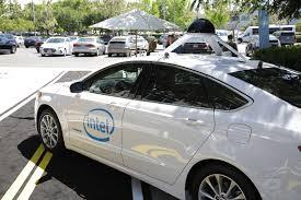 inside intel s new autonomous driving garage techcrunch