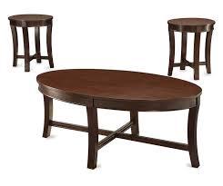 big lots end tables espresso wood 3 piece occasional table set at big lots home decor