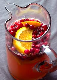 sparkling cranberry sangria the wholesome dish