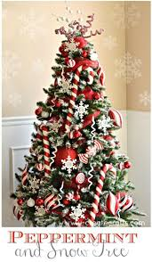relaxing red green mesh ribbon tree decorating ideas galleri then