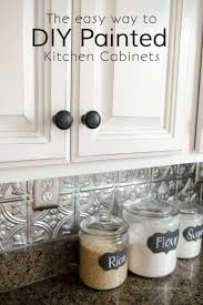 25 best tin tile backsplash ideas on pinterest ceiling tiles how to paint kitchen cabinets with chalk paint