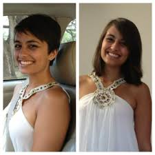 before and after picuters of long to short hair haircuts from long to short long to short haircut before and after