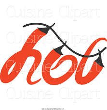 word for cuisine cuisine clipart of a chili pepper word design by 19991