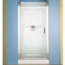 custom euro frameless pivot shower door american standard