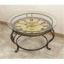 Clock Coffee Table by Clock Coffee Table Fairfield Clock Coffee Table One World