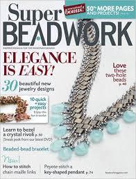 2011 oct nov super beadwork magazine volume 14 number 6 used