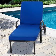 Blue Outdoor Cushions Furniture Dark Blue Chaise Lounge Cushions