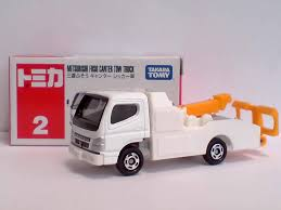 tomica mitsubishi fuso jual tomica no 2 mitsubishi fuso canter tow truck tomica store