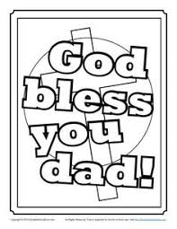 father u0027s day coloring page bible coloring pages pinterest