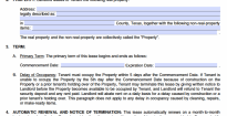 application form template in rental www nyglrc agreement one vawebs