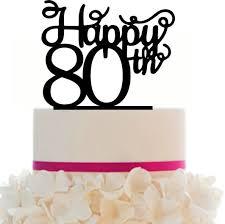 40 cake topper 10 20 30 40 50 60 70 80 90 birthday anniversary cake topper