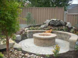 exteriors magnificent propane fire pit kit home depot natural