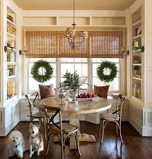 how to decorate a round table round table christmas decorations dining room christmas decoration