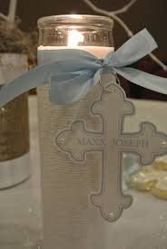 baptism centerpieces boy baptism party ideas christening decorations