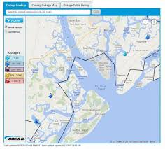 Map Of Beaufort Sc Beaufort County Power Outages Soar To Several Hundred Without