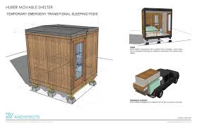 Sleeping Pods Huber U0027s Custom Building Sleeping Pods For The Homeless