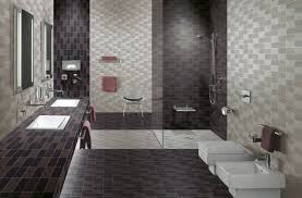 bathroom bathroom tiles shower design with brown subway ceramic