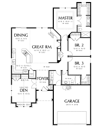 craftsman floorplans longhurst craftsman ranch home plan 011d 0222 house plans and more