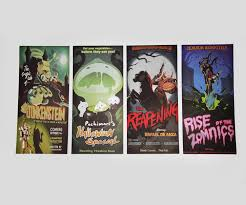 overwatch hollywood movie posters set of 4