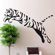 28 tiger wall stickers tiger wall decal big cat sticker tiger wall stickers tiger wall sticker wild cheetah cat african animal tiger