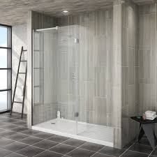 One Piece Bathtub Shower Units Bathroom Small Home Depot Shower Enclosures With Bench And Glass