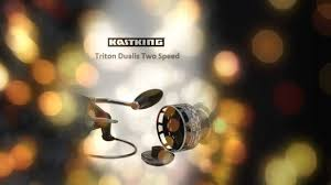 kastking triton dualis 2 speed spinning reel youtube