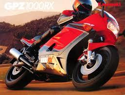 kawasaki gpz 1000 rx zx1000 a1 1986 retro vintage classic moto