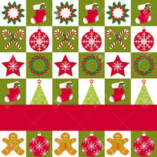 christmas pattern red green christmas ornament seamless pattern red green background royalty