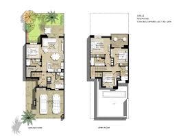 safi townhouse floor plans town square dubai
