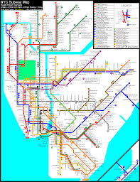 New York Mta Map 1999 Nyc Subway Map New York City Subway Nyc Transit Forums