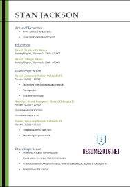 Free Functional Resume Builder Functional Resume Template 2017 Resume Builder