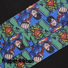 superman ribbon superman ribbon 1 inch printed grosgrain ribbon