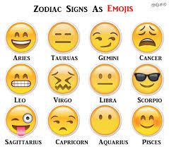 if zodiac signs were emojis playbuzz