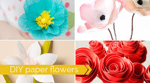 Flower Decorations For Hair 20 Diy Paper Flower Tutorials How To Make Paper Flowers