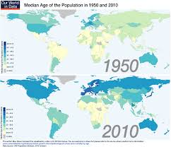 Interactive Map Of Africa by The Median Age Of The World Is 28 5 Sixty Years Ago It Was 23 5