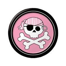 pirate party pirate party pink 7 cake dessert plates