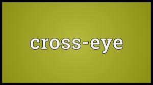 cross eye meaning