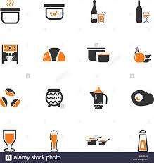 symbole cuisine nourriture et cuisine symbole pour web icons vecteurs et