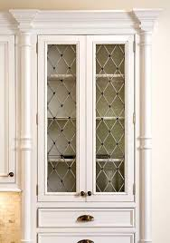 Glass For Cabinet Door Seeded Glass Cabinet Doors These Cabinets Seeded Glass With