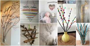 Home Decore Diy by Diy Tree Branches Home Decor Ideas