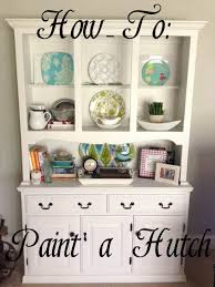 Hutch Definition Furniture Best 25 Hutch Makeover Ideas On Pinterest Painted Hutch