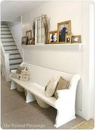 Church Pew Style Bench Diy Bathroom Storage Churches House And Repurposed